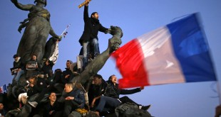 Marche pour la liberté d'expression après l'attaque de Charlie Hebdo en janvier 2015